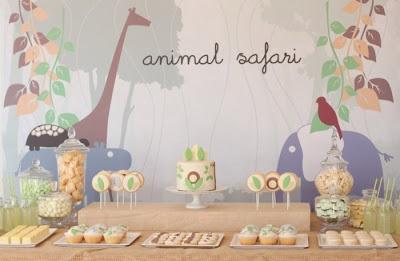 Decoraciones para baby shower de safari - Imagui