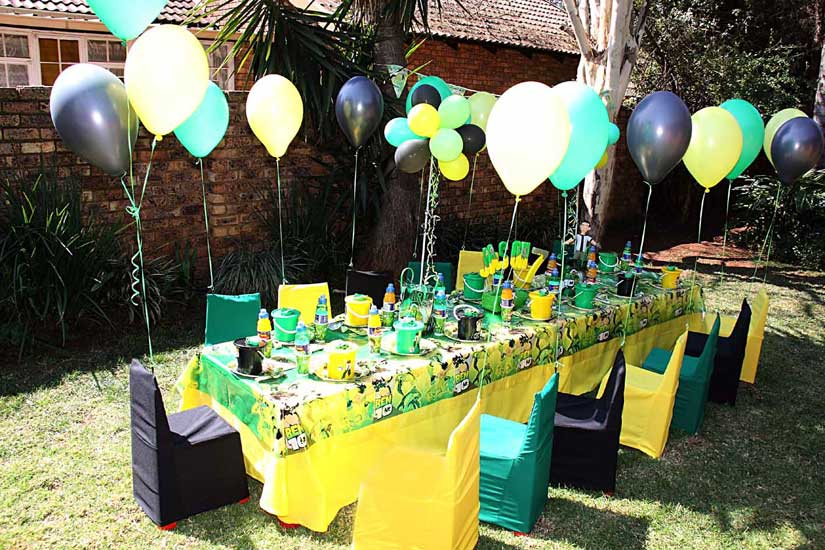 Decoración para fiestas infantiles de ben 10 - Imagui