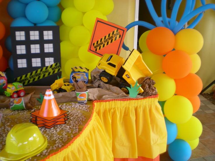 Fiesta bob el constructor for Decoracion construccion