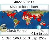 Visitors (Archived Cluster-map)