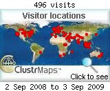(Archived Visitors Cluster-map)
