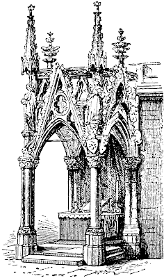 Recently I Came Across A Drawing Of Gothic Ciborium In Regensburg And It Struck Me That Might Show Forth An Example How The Could Be Well