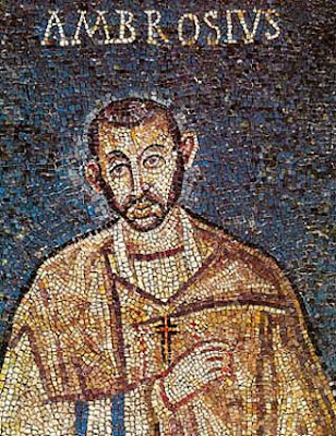 Image result for St. Ambrose mosaic