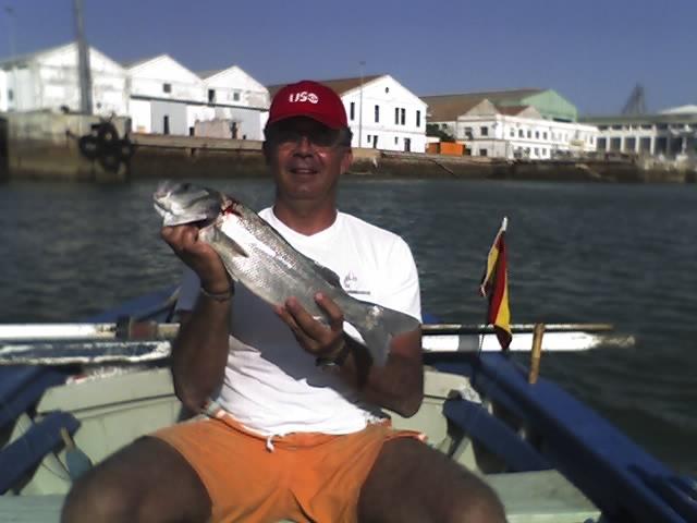 Pesca en la bahia de Cadiz