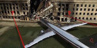 O avião que não cabe no buraco feito pelo míssil!