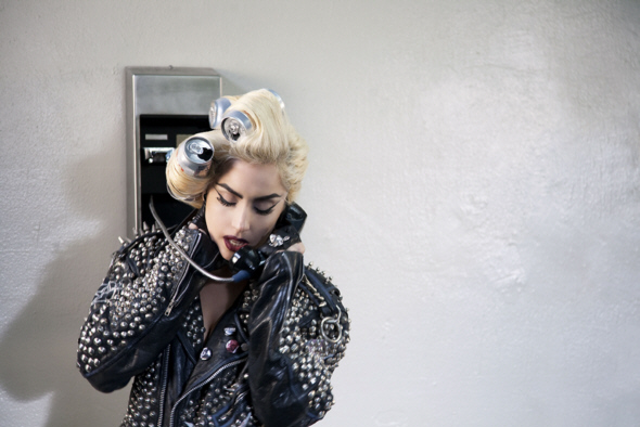 Lady Gaga Telephone Hat. from the Telephone video.