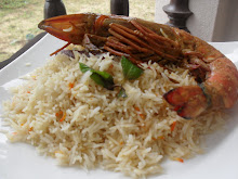 Nasi Beriyani Udang Harimau sangat istimewa ---Yang pasti rasa sekali nak seribu kali