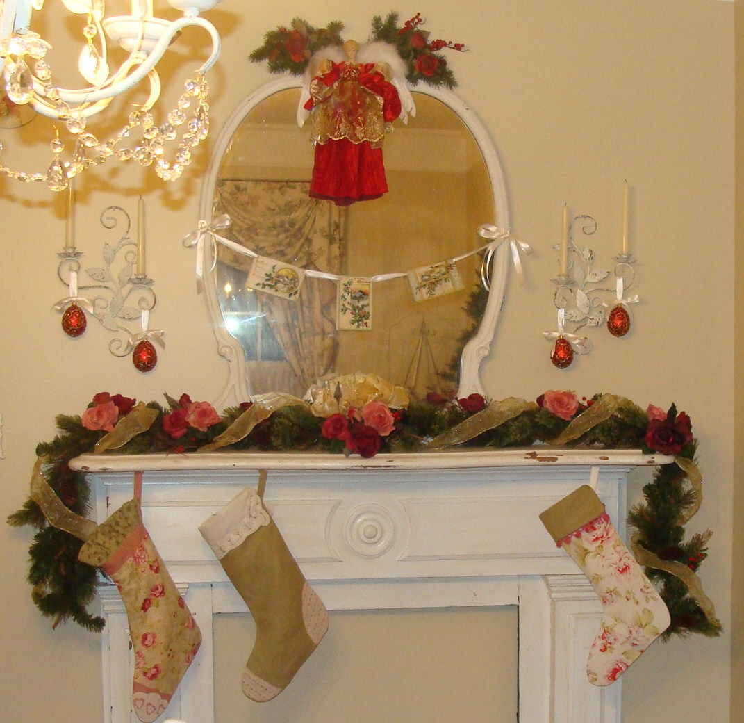 The Decorating Diaries Floral Christmas Stockings