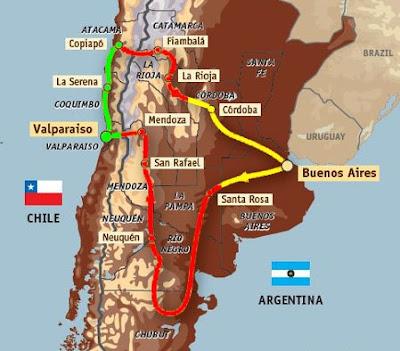 [Clic para agrandar - El cambio de horario en Argentina y el Rally Dakar Argentina - Chile 2009 - automOndo]