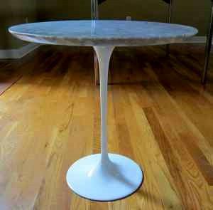 Eero Saarinen Marble Tulip Table. Nashville Craigslist
