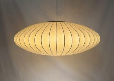 Inspiration#2: An original George Nelson pendant light