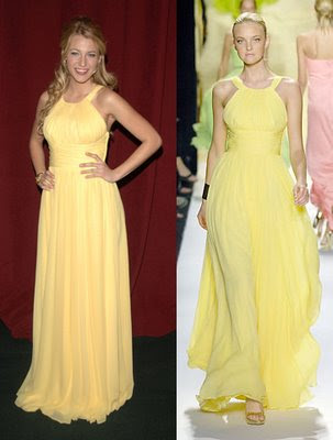 Blake Lively Yellow Dress on Blake Lively Yellow Dress   Group Picture  Image By Tag