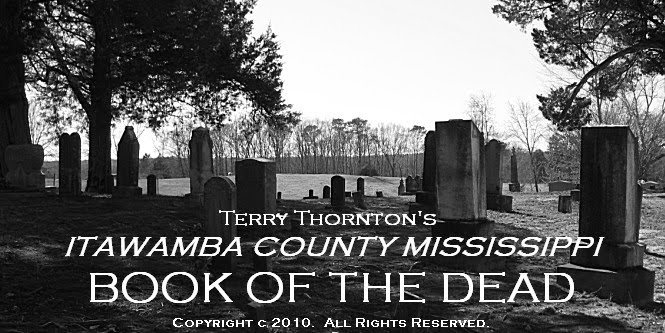 Itawamba County Mississippi Book of the Dead