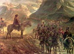 San Martín y su ejército