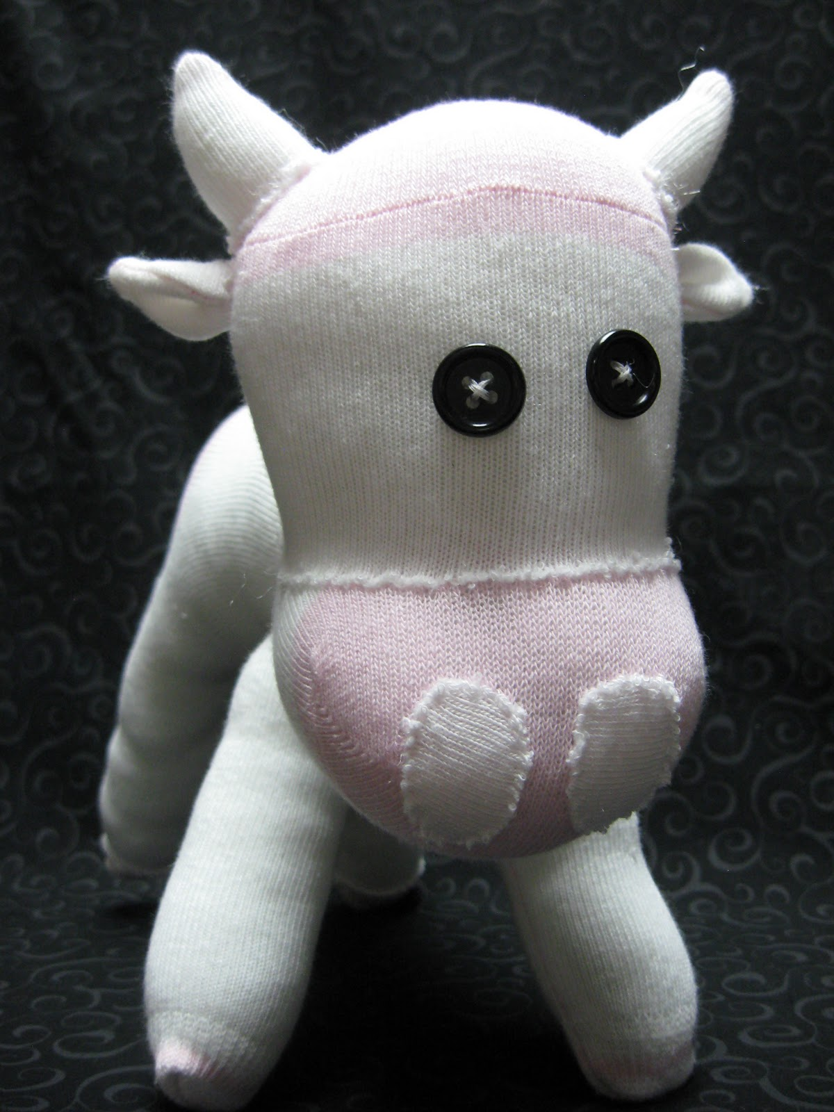 Craft with confidence sock cow tutorial sock cow tutorial jeuxipadfo Images
