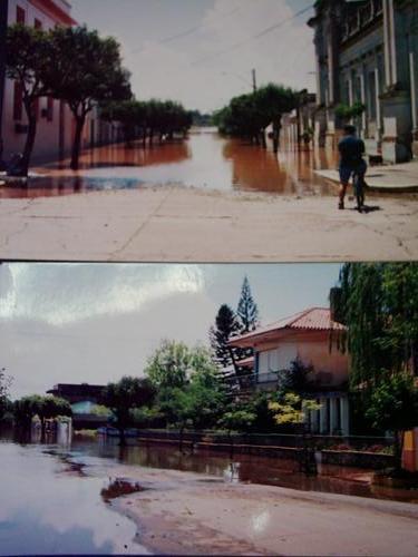 Cheia de 1983 em Itaqui