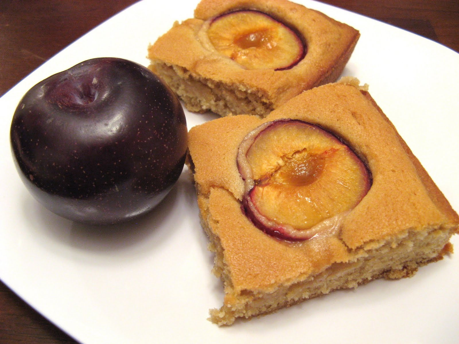 cake plum checked pattern dimpled plum cake amelie s famous plum cake ...