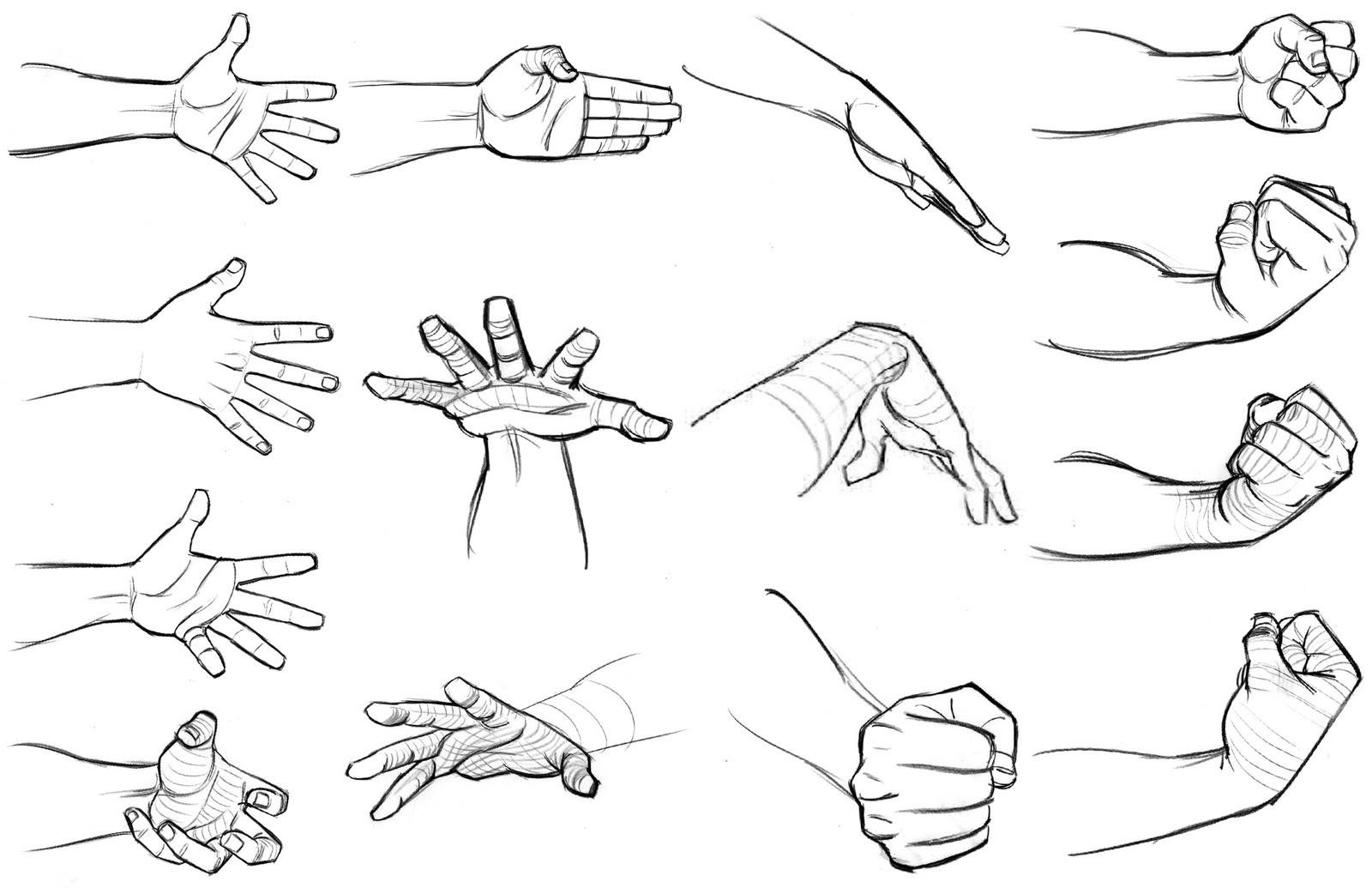 Like how to draw a cartoon fist one favourite