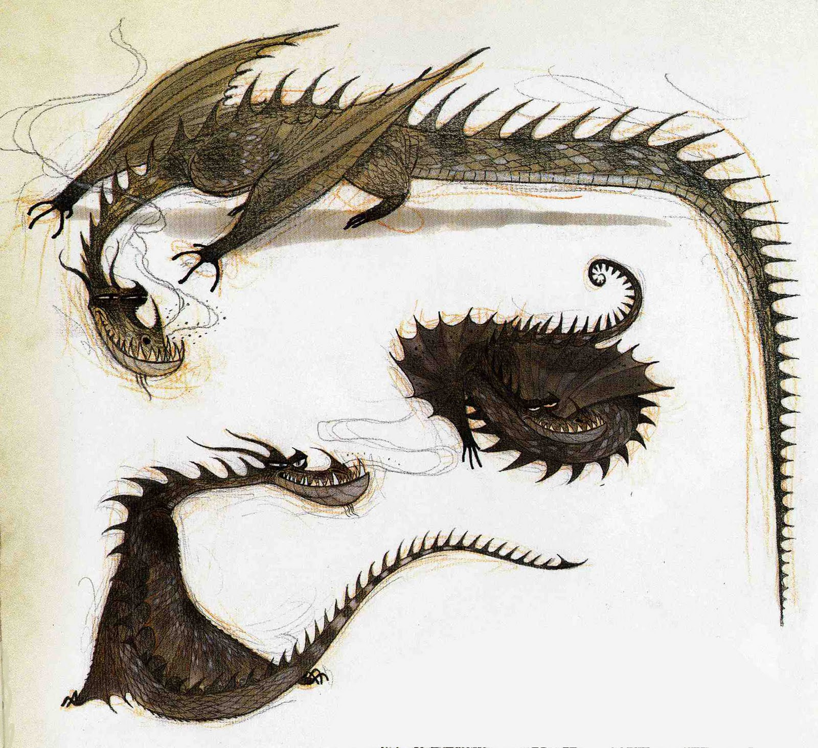Character Design How To Train Your Dragon : Character and creature design notes how to kill a great