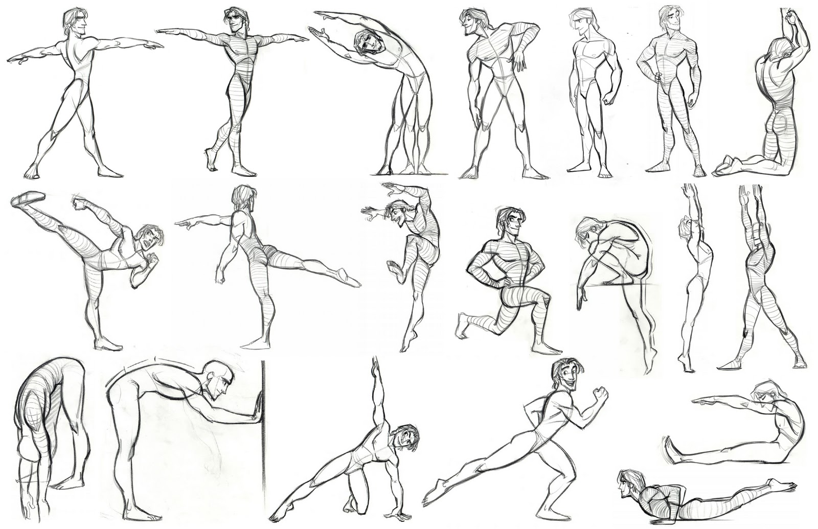 Character Design Poses : Character and creature design notes model sheets part