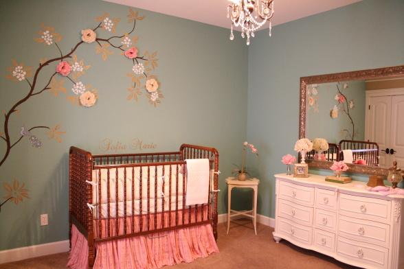 Kinderzimmer gestalten baby