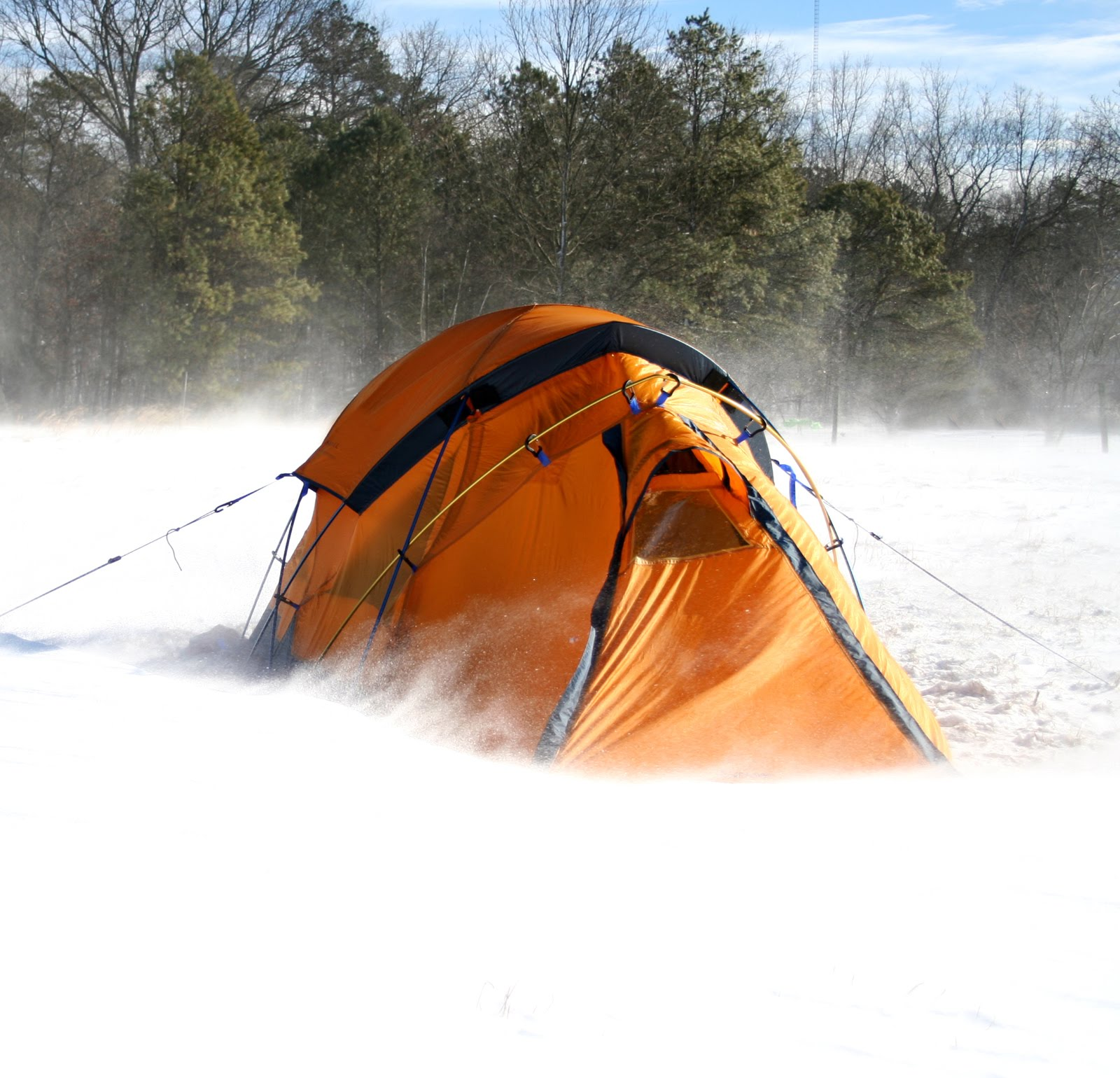 Cold Weather Tents : Hiking tents