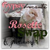 Gypsy Brocante Rosette Swap