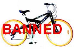 Nanny Bans Bikes