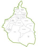 Policía DF Cultura y Deporte: ¡Felices 185 años querido Defe! mapa df con