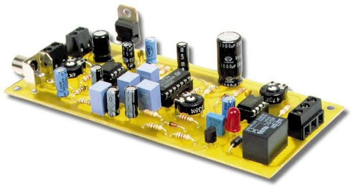 Video motion detector d tecteur de mouvement schema electronique net - Schema electronique detecteur de mouvement ...