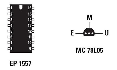 figure 4   brochages du circuit int u00e9gr u00e9 st62t01