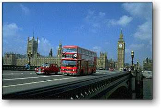 The picture of london bridges called westminster bridge it leads