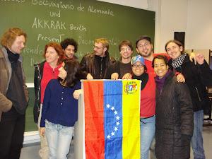 Grupos de Solidaridad con la Revolución Bolivariana venezolana