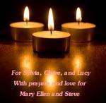 For Mary Ellen & Steve - Prayers