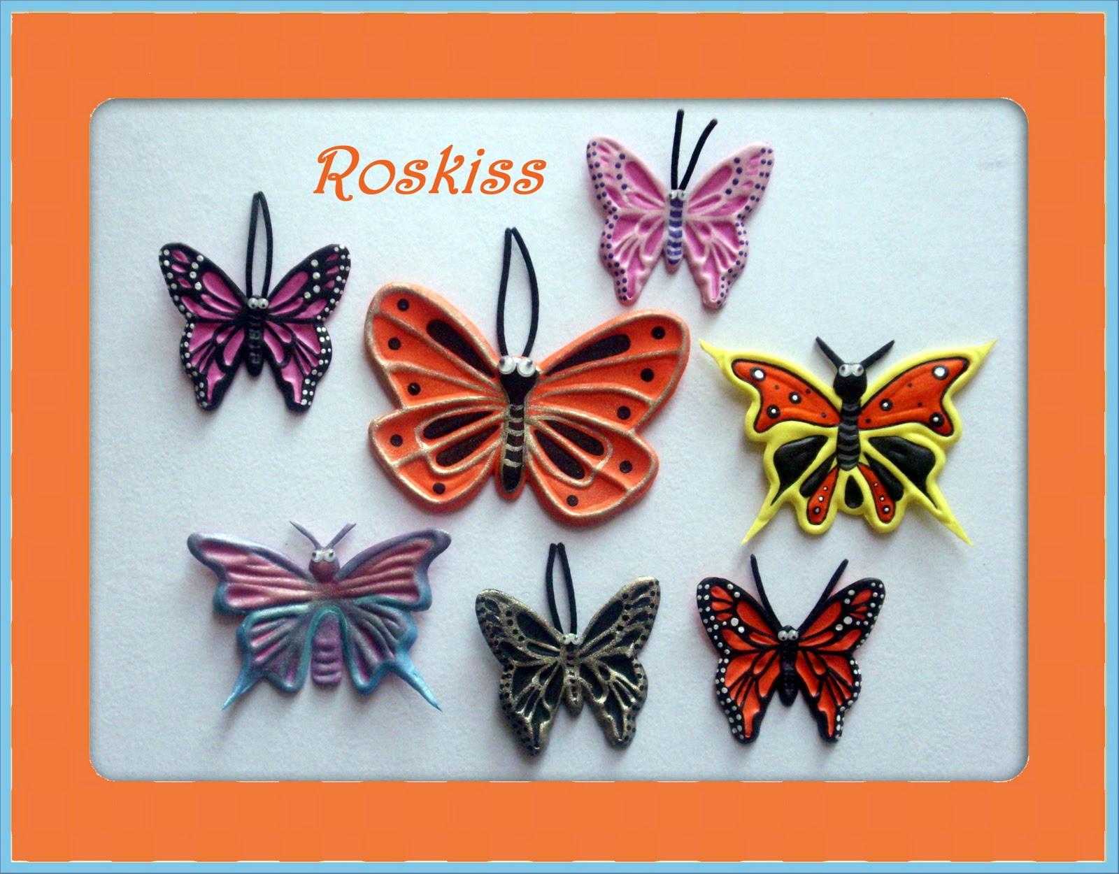 El Atelier de Roskiss: Mariposas en foamy