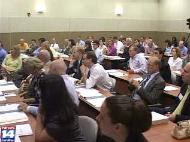 packed house at Prosecutorial Misconduct forum
