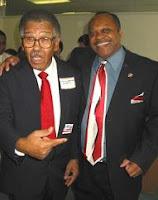 Harris Johnson (left)
