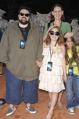 Kevin Smith and his family