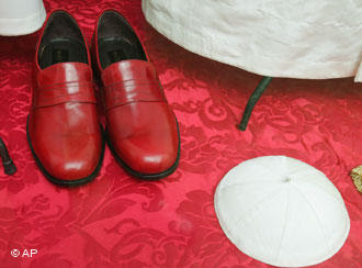 Red Pope shoes