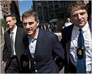 Ralph Cioffi, former manager at Bear Stearns under arrest. He said: entire supbrime market is toast