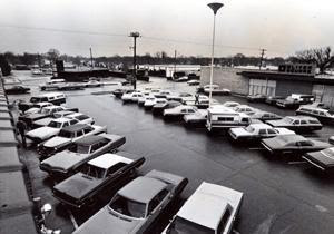 The Otero's family car was found in this Dillons parking lot on January 15th, 1974 at Central and Oliver, shortly after the killings