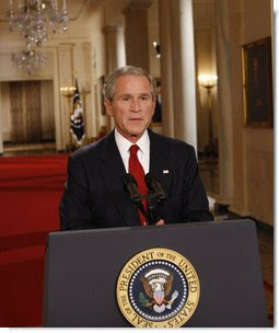 George W. Bush: ultimately, our country could experience a long and painful recession
