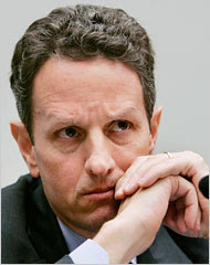 Obama picks Tim Geithner as Treasury Secretary