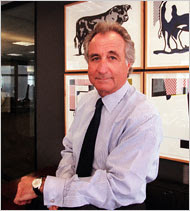 Bernard L. Madoff the ultimate Ponzi artist