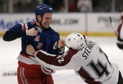 Colton Orr vs. Chris Stewart