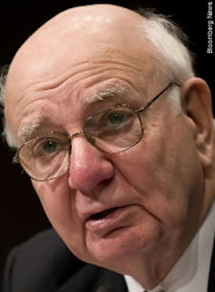 Paul Volcker is being treated like the crazy aunt in the attic