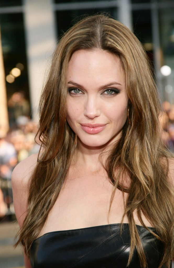 Angelina Jolie Long Hairstyles 2
