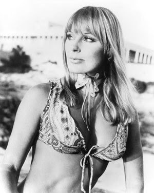 Think about Elke Sommer, ...