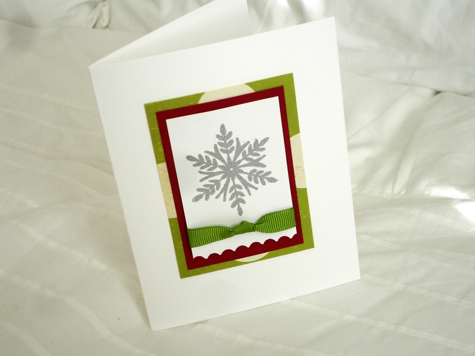 Pretty Lil Posies Christmas Card