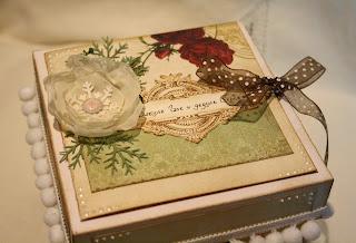 Новогодний подарок для бабушки и дедушки своими